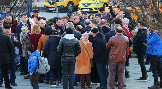 İmamoğlu: Yalova halkının ve YalovaBelediye Başkanı'mızın yanındayız