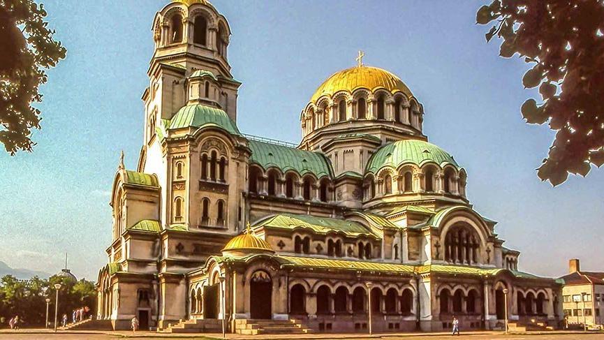 Sofya'nın simgesi St Alexander Nevsky Katedrali