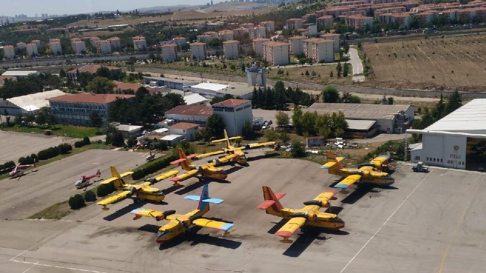 Türk Hava Kurumu'nun uçakları ihaleye sokulmadı