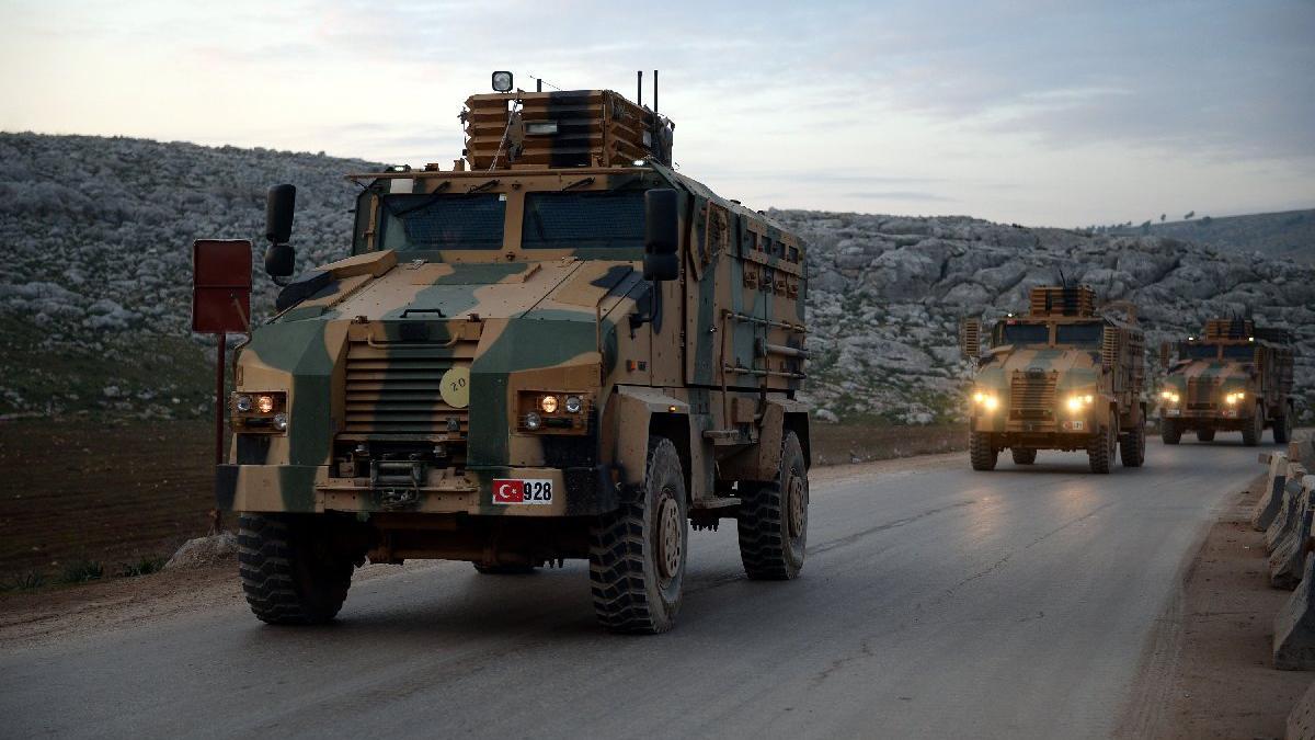 Türk askeri konvoyu İdlib'e girdi!
