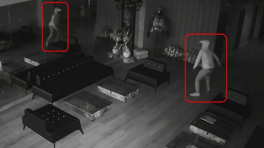 Hırsızın kendisiyle imtihanı... 6 saniyede kaçtı