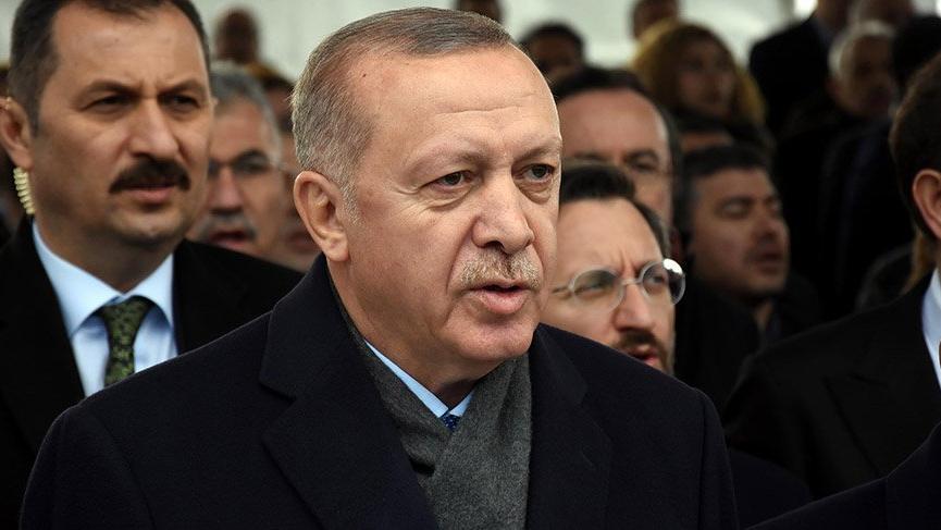 Erdoğan'dan deprem açıklaması!