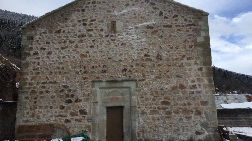 Ordu'da Muzadere Kilisesi restore edildi