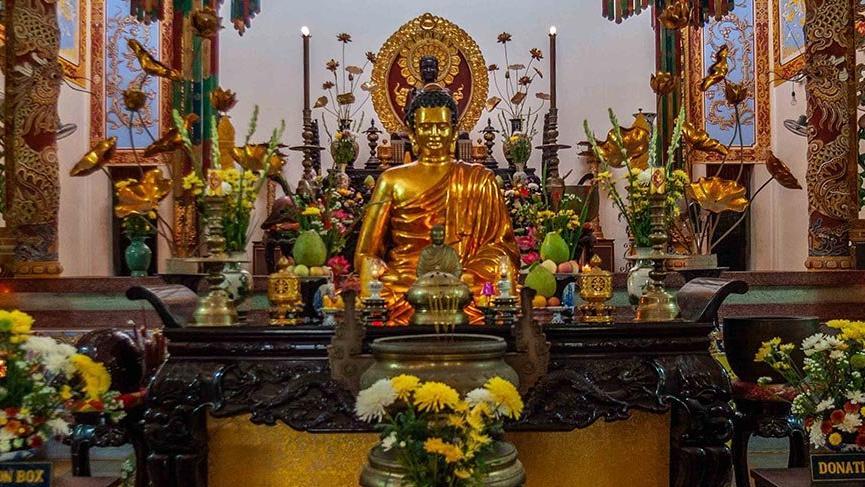 Vietnam'ın kültürel mirası: Long Son Pagoda Tapınağı