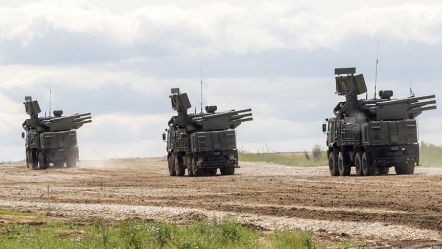 Pantsir-S1 savunma sistemleri Sırbistan'a gönderildi!