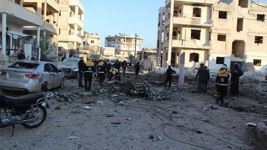 Savaş uçakları İdlib'i vurdu: 20 ölü!