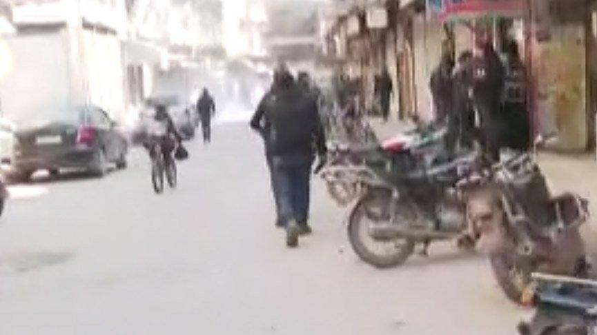 Rejime ait savaş uçakları İdlib'de sivilleri vurdu!