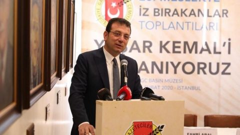 İmamoğlu'ndan Kültür ve Turizm Bakanı'na yanıt: Hoş değil