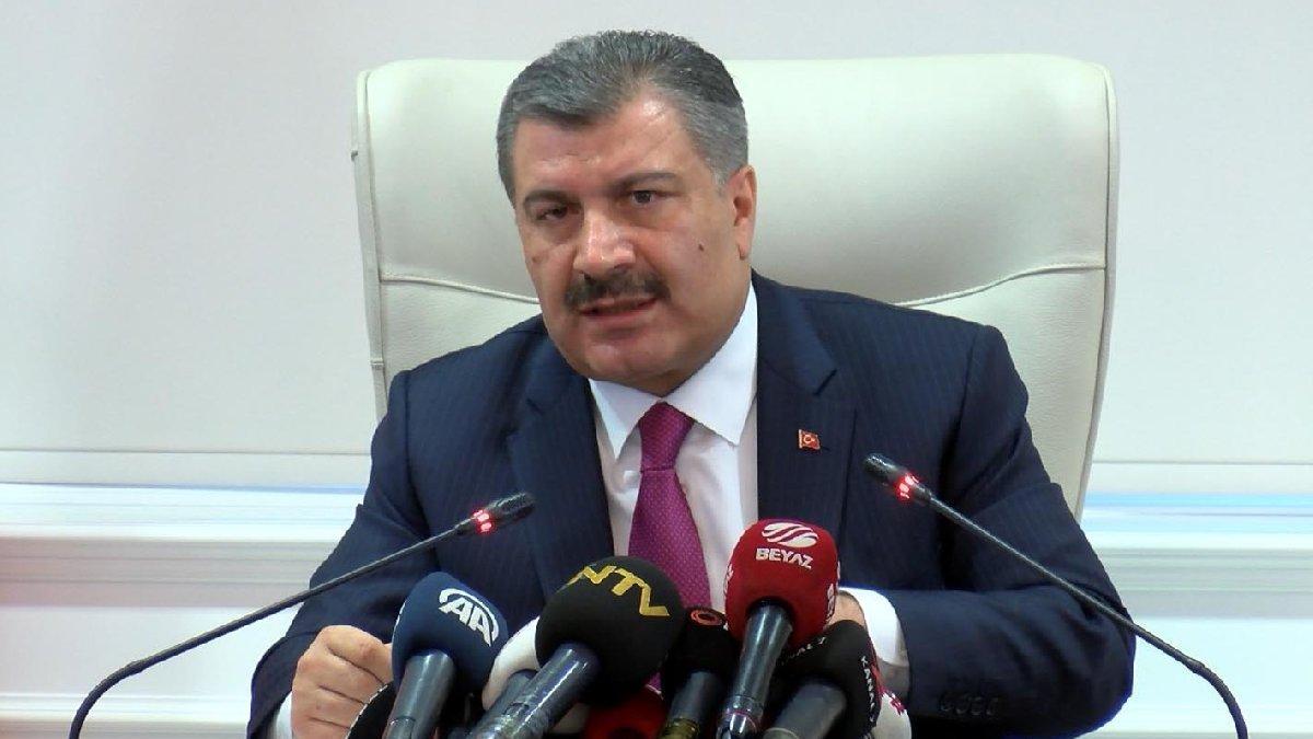 Sağlık Bakanı Koca'dan uçakla ilgili açıklama!