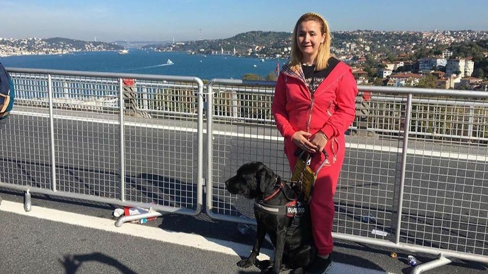 Rehber köpekler görme engellilerin hayatını değiştiriyor