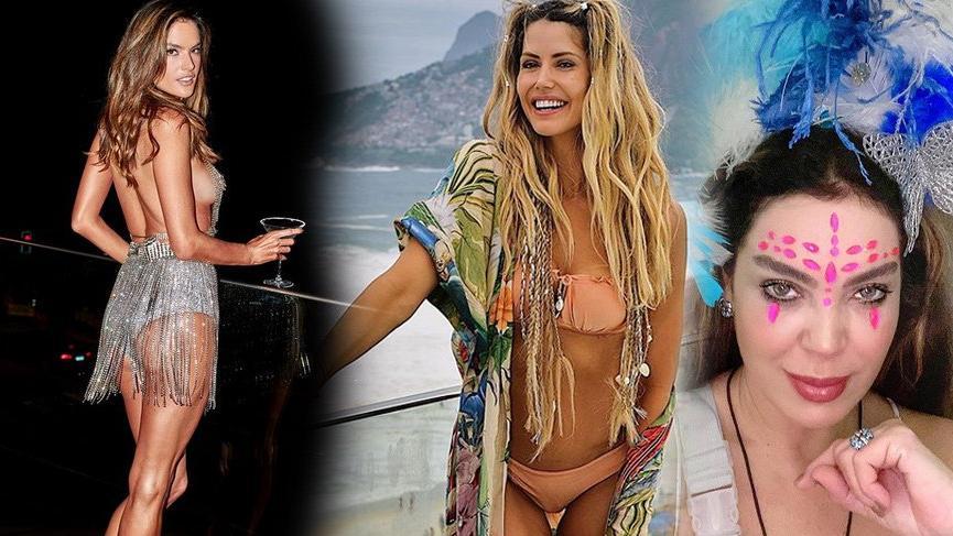 Ünlü isimlerin Rio Karnavalı çıkarması