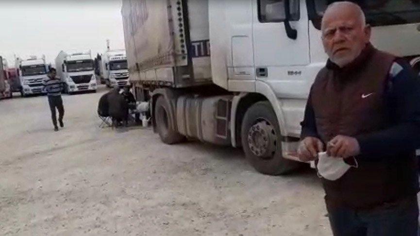 Türk şoförler İran sınırında mahsur kaldı!