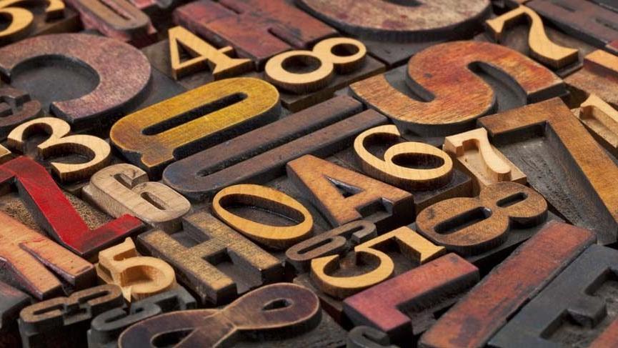 Kalde alfabesi... Sayılar, harfler ve kader!