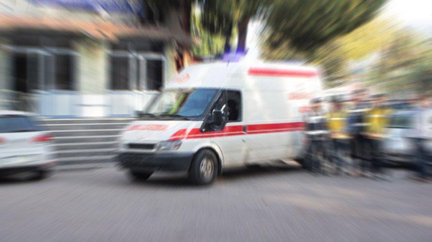 Erzincan'da Corona virüsü alarmı! Hastaneye kaldırıldı