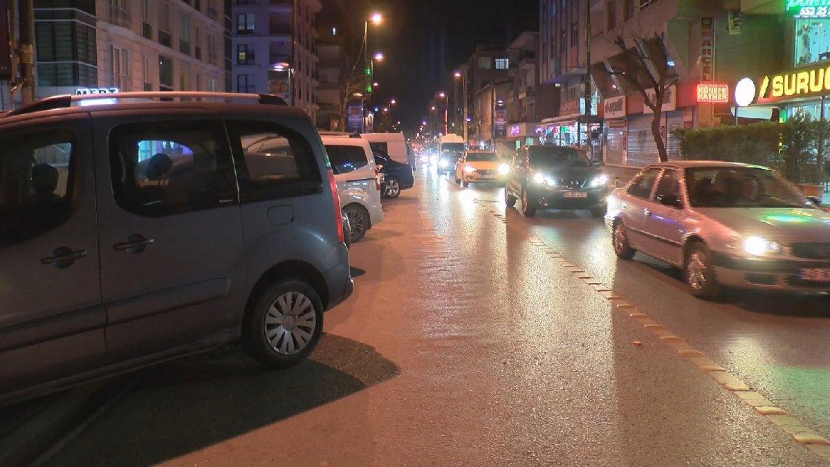 İstanbul'da dehşet anları: Otomobili bebekli kadının üzerine sürdü