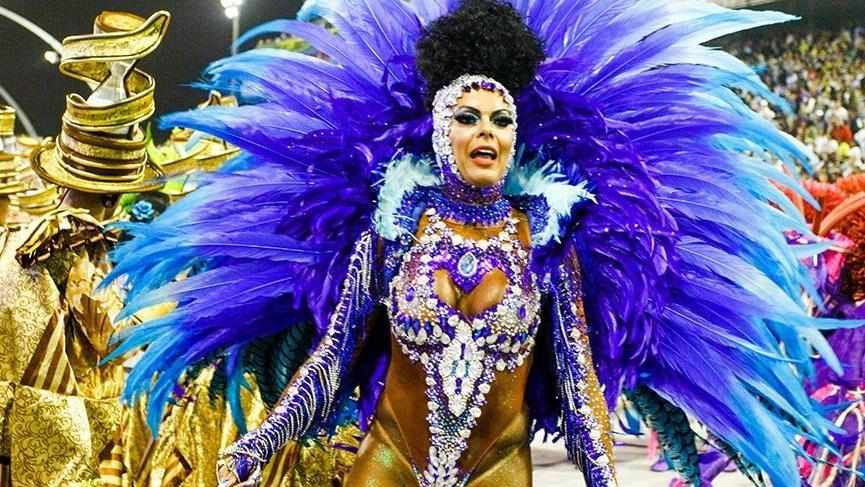 Sao Paulo Karnavalı Rio ile yarışıyor