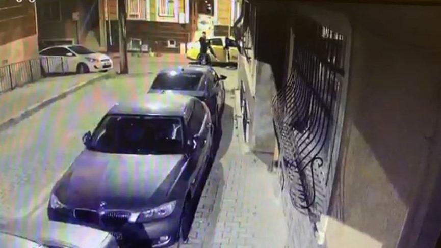 Taksili hırsızların attığı konuma bu kez polis gitti!