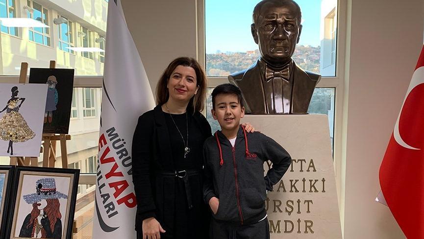 10 yaşındaki Ada Türkiye'yi gururlandırdı