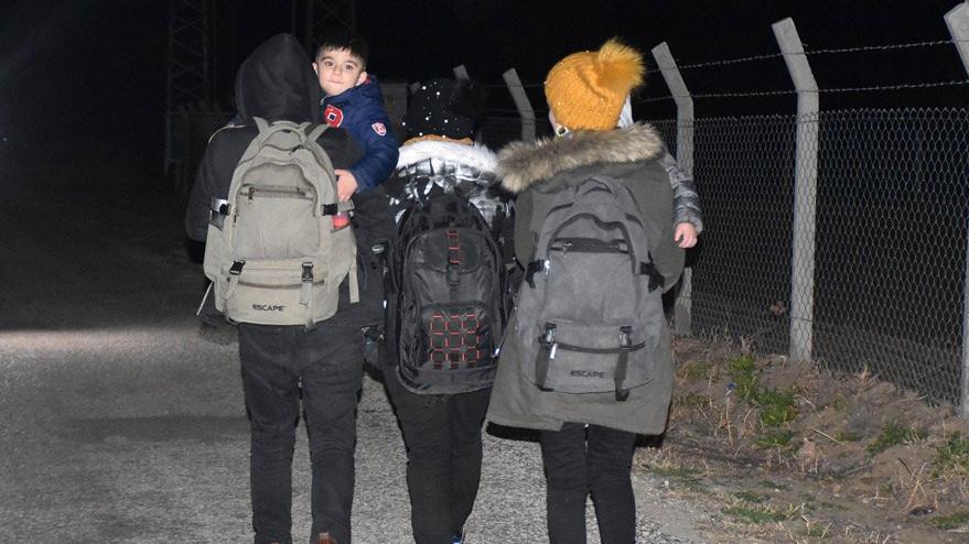Türkiye'nin kararını duydular sınıra koştu
