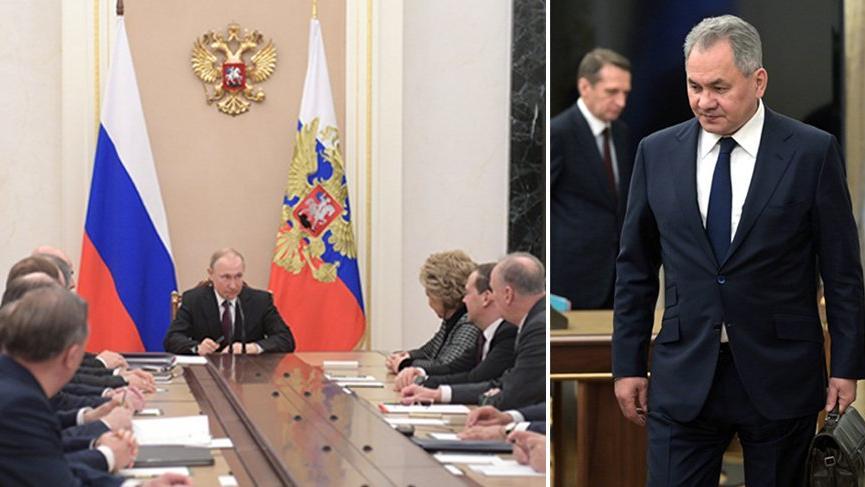 Rusya'daki Güvenlik Konseyi toplantısında dikkat çeken detay!