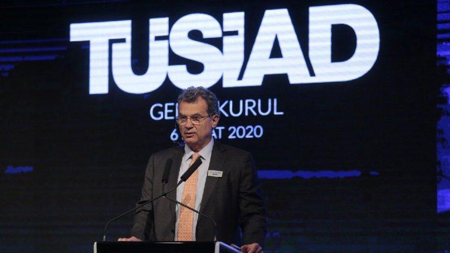 TÜSİAD Başkanı:Dünya kamuoyu daha fazla duyarsız kalmamalı