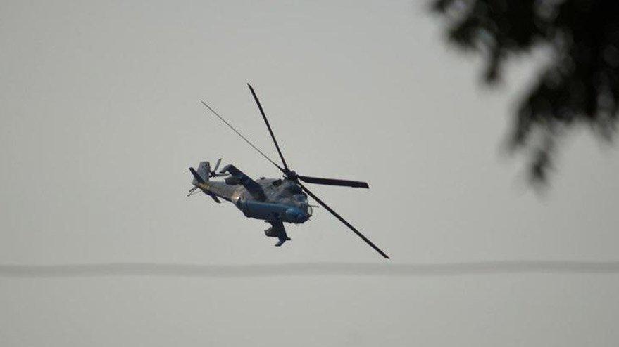 Rusya'da helikopter düştü: 1 ölü