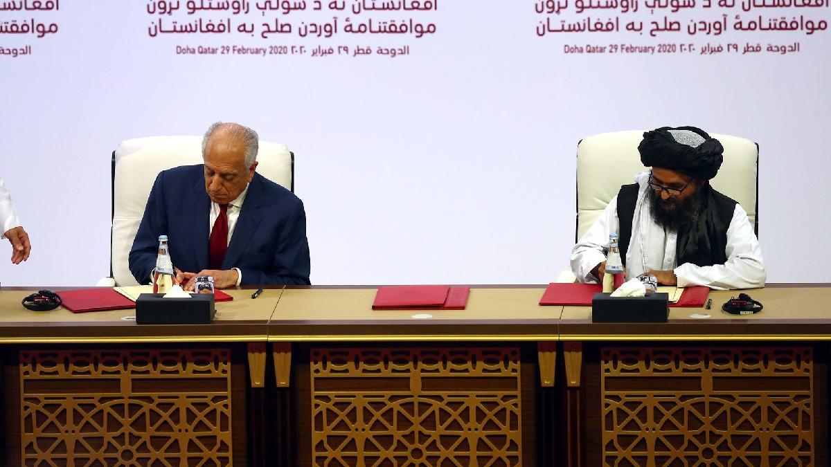 Afganistan için tarihi gün! Taliban'la barış imzalandı