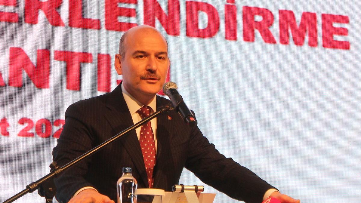 İçişleri Bakanı Soylu Türkiye'yi terk eden göçmen sayısını açıkladı