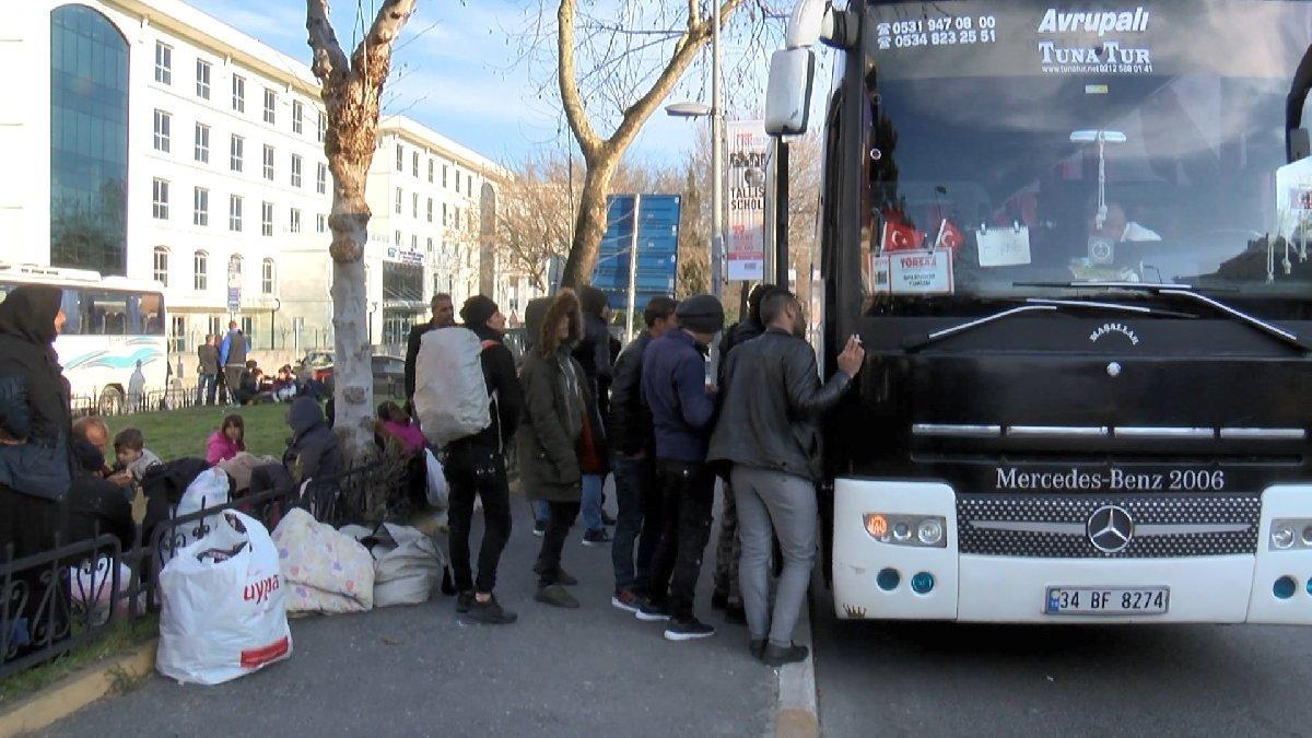 İstanbul'daki mülteciler: Gitmemiz için bedava araba lazım