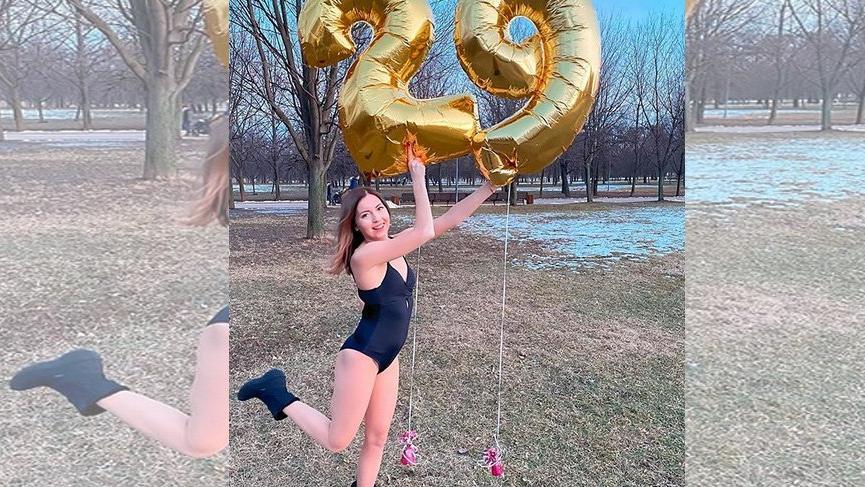 Ekaterina Didenko'nun doğum günü kutlamasında facia