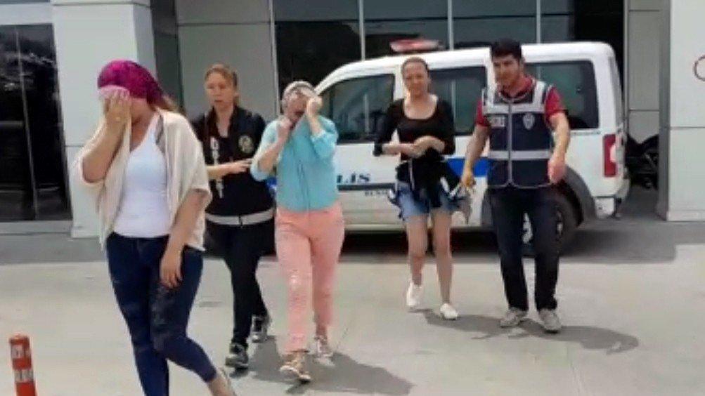 Dev fuhuş operasyonu: 111 kişiye adli işlem yapıldı