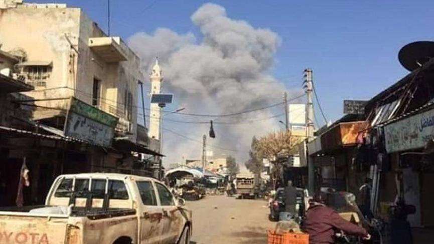 Rusya, İdlib yakınındaki Serakib'e girdi!