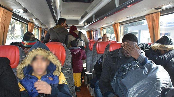 Göçmen tarifesi: Minibüs 250, taksi 5-6 bin TL