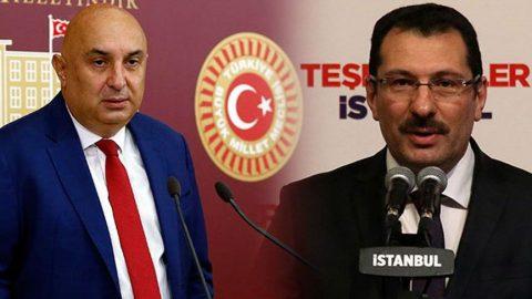 CHP'li Özkoç ile AKP'li Yavuz arasında Tank-Palet atışması!