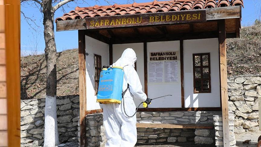 Tarihi kentte korona virüsüne karşı tedbirler alındı