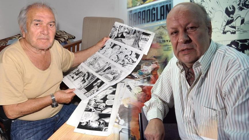 Karaoğlan'ın çizeri Suat Yalaz ve Kara Murat'ın çizeri Abdullah Turhan hayatını kaybetti