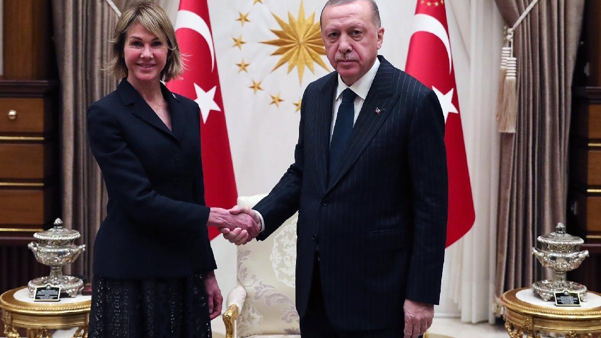 Cumhurbaşkanı Erdoğan, ABD'nin BM Daimi Temsilcisini kabul etti