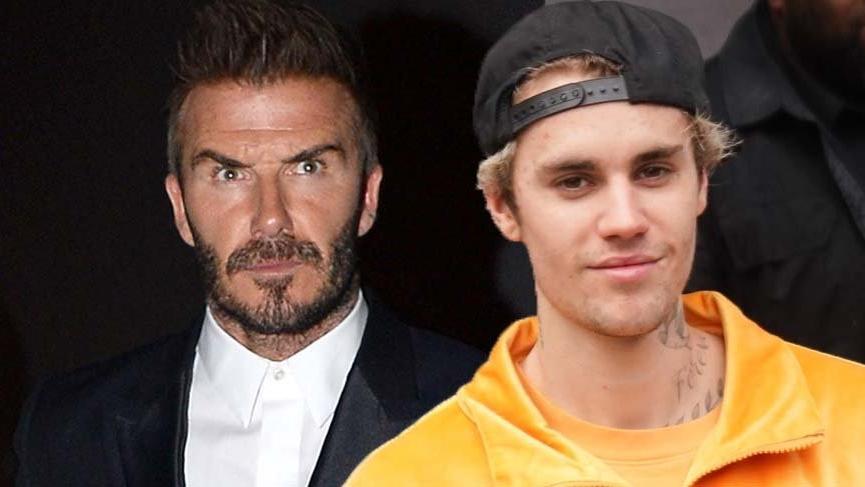 Justin Bieber, David Beckham'ı korkuttu