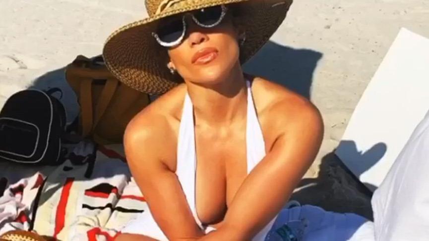 Jennifer Lopez plajda