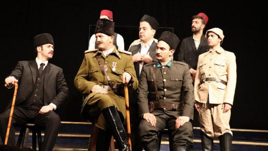 'Mustafa Kemal' oyunu Eskişehir'de sahnelendi
