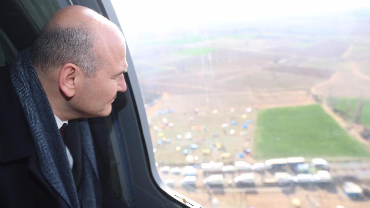 Son dakika... Soylu: Yunanistan sınırına 1000 Özel Harekatçı gönderdik