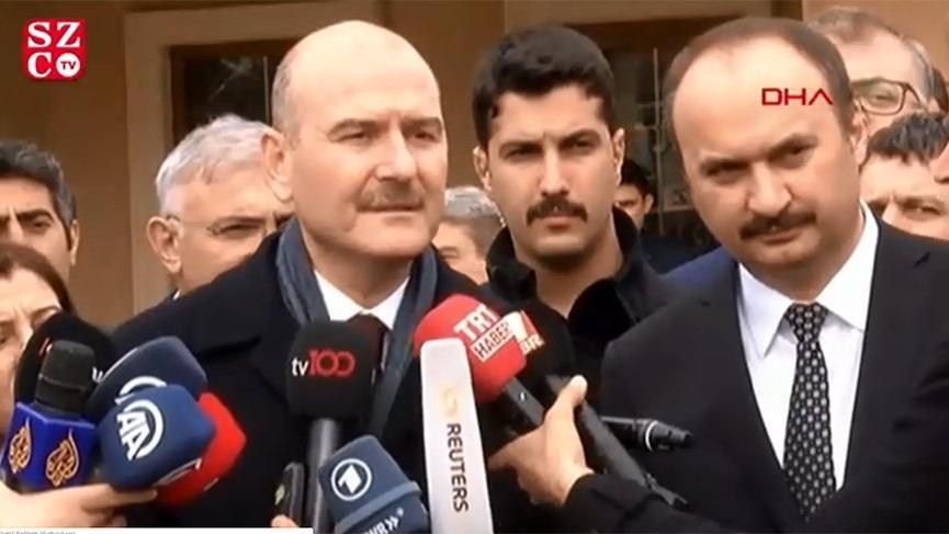 Bakan Soylu'dan muhabire sert tepki: Yunan çıkarlarına hizmet ediyorsun