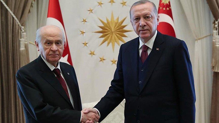 Erdoğan ile Bahçeli İdlib'i konuştu!