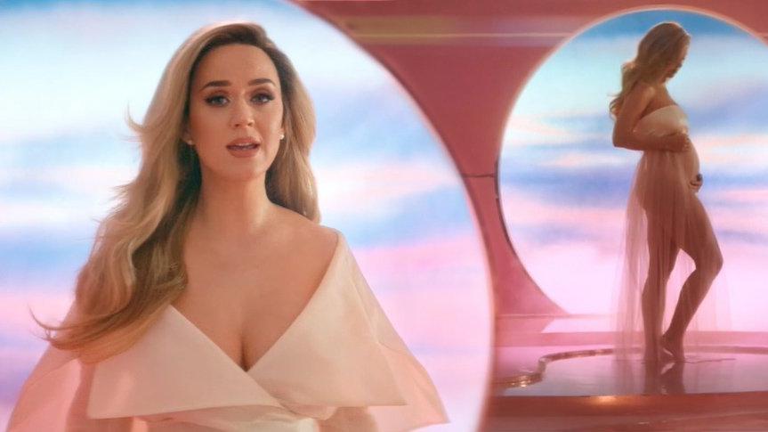 Katy Perry hamileliği hakkında ilk defa konuştu