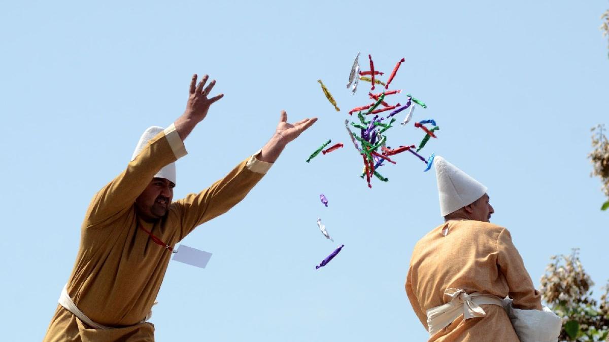 480 yıllık Festivale corona virüsü ayarı