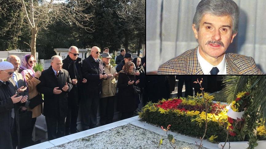 Çetin Emeç, katledilişinin 30'uncu yılında mezarı başına anıldı