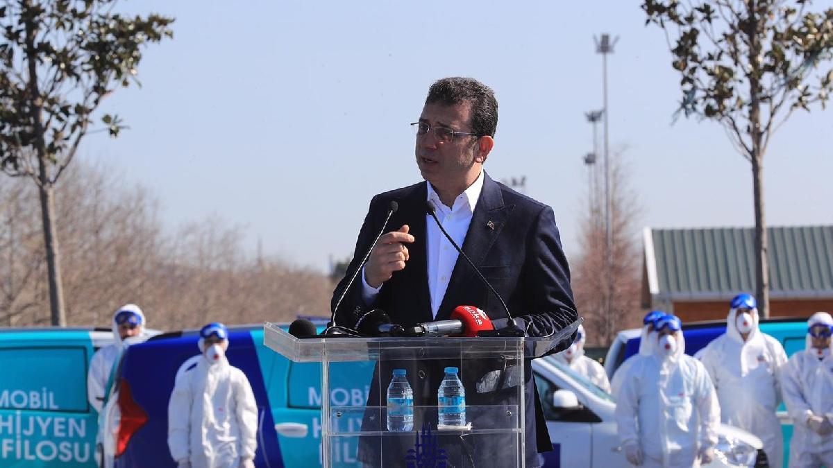 İBB Başkanı İmamoğlu, corona virüsü için alınan önlemleri açıkladı