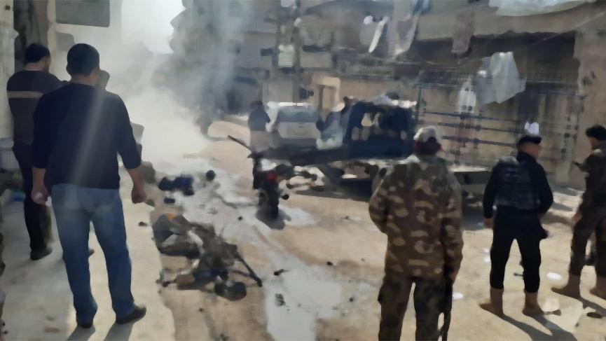 Afrin'de bombalı saldırı! Yaralılar var