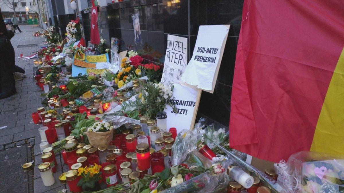 Almanya'daki korkunç katliamın ardından Sözcü.com.tr Hanau'da