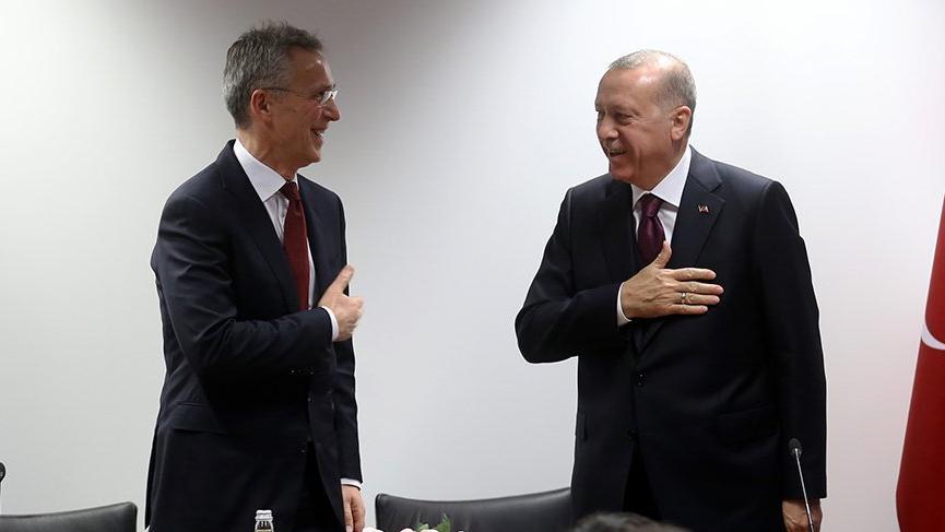 Görüşmede dikkat çeken detay! Erdoğan, Stoltenberg'in elini sıkmadı